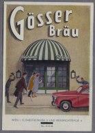Gösser Bräu  Restaurant  Brauerei Werbung Wien  B442 - Pubblicitari