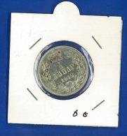 Serbia 1 Dinara 1912  SPL - ARGENTO - OSSIDO NATURALE NON PULITA - Serbie