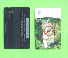 DOMINICA - Magnetic Phonecard/Be Alert Drugs Hurt - Dominica