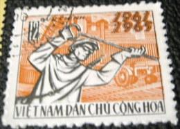 Vietnam North 1965 20th Anniversary 12xu - Used - Vietnam