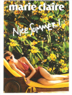 Werbepostkarte - Marie Claire - Sexy Girl - Pin-Ups