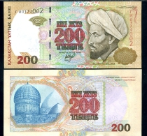 Kazakhstan 200 Tenge 1999  Pick 20a UNC - Kazachstan