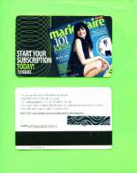 UK - Magnetic Gift Card/Marie Claire - Other Collections