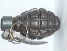 Grenade Défensive à Identifier. INERTE- NEUTRALISEE. N°2 - Militari