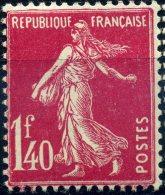 FRANCE 1924-26 TYPE SEMEUSE FOND PLEIN YVERT  N° 196 Neuf LUXE  MNH COTE 48E - 1906-38 Semeuse Con Cameo