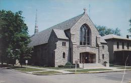 CPA - USA - Saint Bernard Catholic Church - Indiana - Etats-Unis