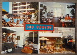 CANET PLAGE (66).HOTEL LES SABLES.INTER-HOTEL.NON CIRCULE.TBE. - Canet Plage