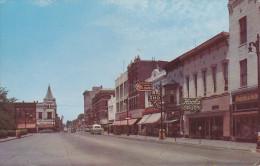 CPA - USA - Kokomo Street Scene - Square Looking North - Indiana - Etats-Unis