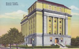 CPA - USA - Kokomo Masonic Temple - Indiana - Etats-Unis