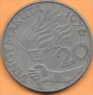 20 Makuta 1976 Clas D 180 - Congo (Republic 1960)