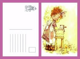 Sara Kay Modern Postcard 2 - Size:15x10 Cm. Mint - Cómics