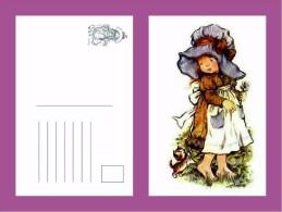 Sara Kay Modern Postcard 5 - Size:15x10 Cm. Mint - Cómics