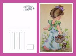 Sara Kay Modern Postcard 7 - Size:15x10 Cm. Mint - Cómics