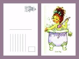 Sara Kay Modern Postcard 9 - Size:15x10 Cm. Mint - Cómics