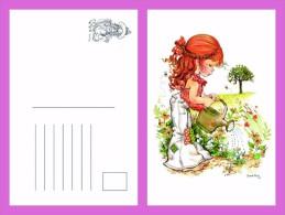Sara Kay Modern Postcard 10 - Size:15x10 Cm. Mint - Cómics