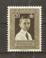 Liechstenstein 1956 - Prince Héritier Jean Adam - MNH - Liechtenstein