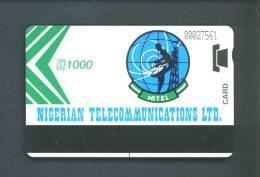 NIGERIA  -  Magnetic Phonecard As Scan