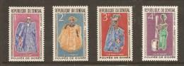 Sénégal - POUPEES De GOREE - 4 Timbres MNH -  YT 266 à 269 - 1966 - Senegal (1960-...)