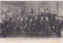 PONS - Ecole Professionnelle De Garçons - Première Année, Section B Et Section Agricole - Pons