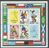 Antigua BF N° 16 XX  Coupe Du Monde De Football à Munich, Le Bloc Sans Charnière,TB - Coppa Del Mondo