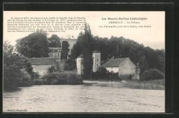 CPA Chemilly, Le Château Vue D'ensemble Prise De La Saône - Unclassified