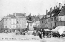 Lons-le-Saunier- Statut Du Général Lecourbe - Lons Le Saunier
