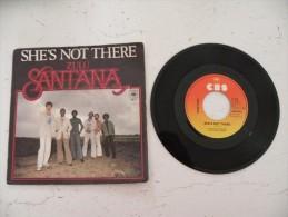 Santana, She's Not There, Zulu . 1977 - Voir  Photos, Dique CBS - Rock
