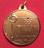 MEDAGLIA    TRIESTE  1980 FEDERAZIONE ITALIANA NUOTO SALVAMENTO CAMPIONATI NAZIONALI TETRATHLON  - D.3 - Professionali/Di Società