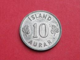 Islande   10 AURAR    1969     KM#.10    CUPRO  NICKEL     UNC SUPERBE - Islandia