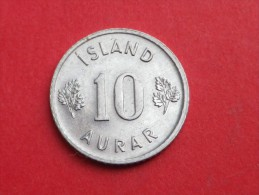 Islande     10 AURAR    1974     KM#.10.a    ALUMINIUM     UNC SUPERBE - Islandia
