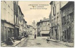Lozère - Langogne - Rue De La Tour De L'Horloge - Langogne
