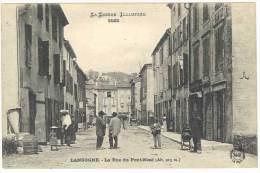 Lozère - Langogne - La Rue Du Pont-Neuf - Langogne