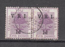 """1900  SG   Nº  113 , 113 D     (  """" No Stop After  """" R"""" ) - Südafrika (...-1961)"""