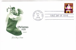 1979 USA Christmas 15c First Day Cover - First Day Covers (FDCs)