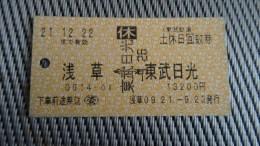 Bus Ticket From Japan - Fahrkarte - Transportation