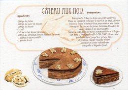 Recette - GÂTEAU AUX NOIX - 00019 RP021 - S.A. APA-POUX - TBE - Recettes (cuisine)