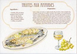 Recette - TRUITES AUX AMANDES - 00019 RP022 - S.A. APA-POUX - TBE - Recettes (cuisine)