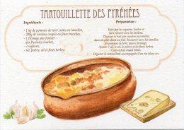 Recette - TARTOUILLETTE DES PYRENEES Au Fromage Pur Fermier - 00019 RP024 - S.A. APA-POUX - TBE - Recettes (cuisine)
