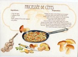 Recette - FRICASSEE DE CEPES - 00019 RP028 - S.A. APA-POUX - TBE - Recettes (cuisine)