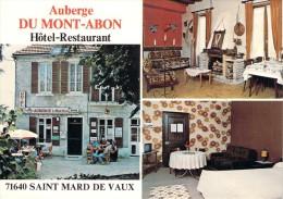 CPSM   Saint-Mard-de-Vaux Auberge Du Mont-Abon  (animée)  TA 1483 - Frankreich