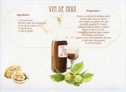 Recette - VIN DE NOIX - 00019 RP037 - S.A. APA-POUX - TBE - Recettes (cuisine)