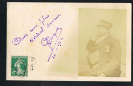 CARTE PHOTO CDV G.PAQUET -REIMS  1912   -PAYPAL SANS FRAIS - Fotos