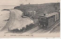 LA GREVE DE L AURORE ( Train Gros Plan ) - Cancale