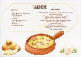 Recette - GARBURE - 00019 RP039 - S.A. APA-POUX - TBE - Recettes (cuisine)