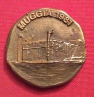 MEDAGLIA   MUGGIA 1981 S.N.PULLINO ISOLA 1925 -D.4 Cm - Professionali/Di Società