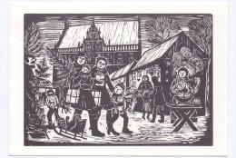 4290 BOCHOLT, Weihnachtsmarkt, Künstler-Karte, Sonder-Stempel - Bocholt