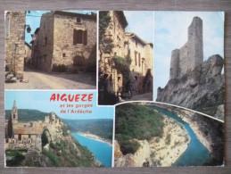 AIGUEZE (30). MULTIVUE. ANNEE 1986 - France