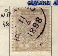 SURINAME / N° 17 COTE 1.50 € - Suriname ... - 1975