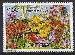 FLORES - MONTSERRAT 2000 - Yvert #1020 - MNH ** - Plants