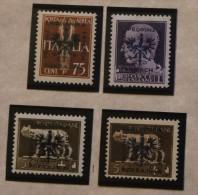 Italy Overprints Provinz Laibach Pokrajina Hinged Or No Gum Unused WYSIWYG 1944  A04s - 9. WW II Occupation (Italian)